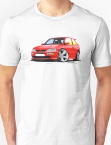 Ford Escort RS Cosworth Red T-Shirt
