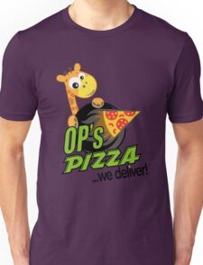 OP's Pizza Delivers (large - no pun intended) Unisex T-Shirt