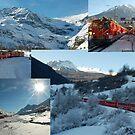 Glacier Express - Switzerland by Arie Koene