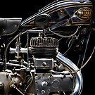 Gilera VL Lusso Engine by Frank Kletschkus