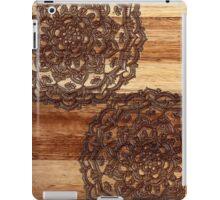 Burnt Wood Chocolate Doodle iPad Case/Skin
