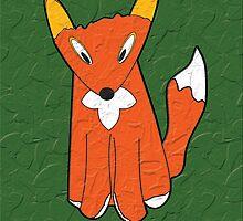 Crumpled Fox by flat-dimension