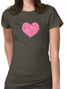 Roses of Love Womens Fitted T-Shirt