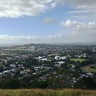 Auckland Central Bird's Eye View by zijing