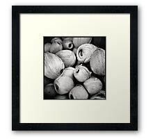 coils •istanbul, turkey •2012 Framed Print