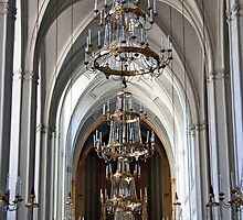 Arches And Chandeliers by phil decocco