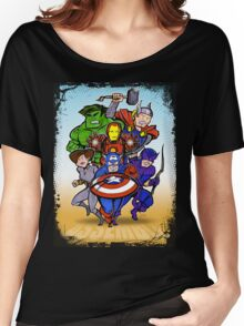 Mighty Heroes Women's Relaxed Fit T-Shirt