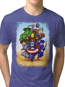 Mighty Heroes Tri-blend T-Shirt