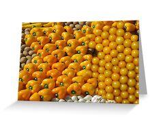 Yellow fruit Greeting Card