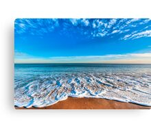 Tides Rush In Canvas Print
