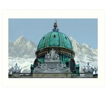 Austria - country of culture and nature Art Print