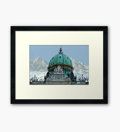 Austria - country of culture and nature Framed Print