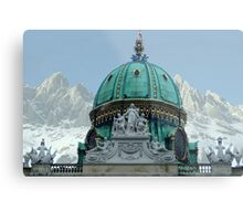 Austria - country of culture and nature Metal Print