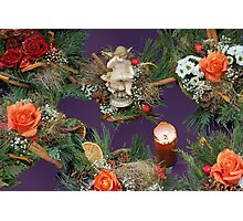 Christmas bouquets Photographic Print