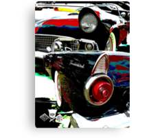 55 Thunderbird Canvas Print