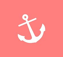 Coral Anchor by M Studio Designs