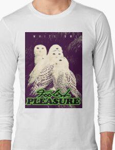 White Owl Edition - (Foolish Pleasure) Long Sleeve T-Shirt
