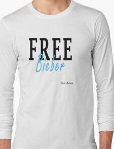 FREE BIEBER Long Sleeve T-Shirt