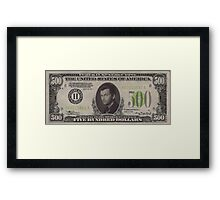 500 Tennant Bill Framed Print