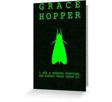 Grace Hopper Greeting Card