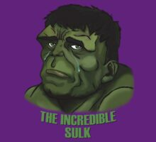 The Incredible Sulk by ECink