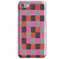 Checkered Pattern  iPhone Case/Skin