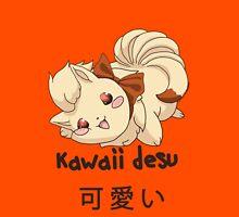 Kawaii Desu Ninetails T-Shirt