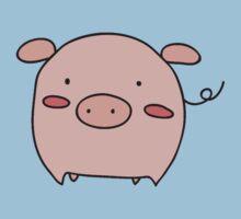 Little Pink Piggy by SaradaBoru