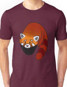 Curious Red Panda Unisex T-Shirt