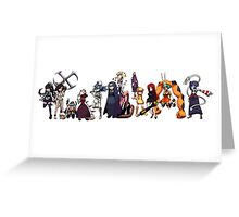 SkullGirls Greeting Card
