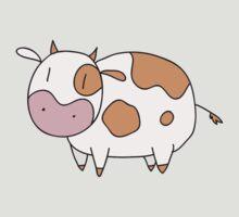 Light Brown Cow by SaradaBoru