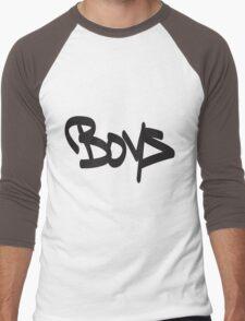 Boys Men's Baseball ¾ T-Shirt