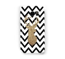 Gold Deer Chevron Samsung Galaxy Case/Skin