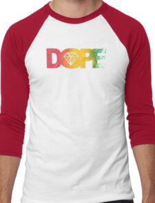 DOPE DIAMOND RASTA HIP HOP MUSIC SWAG XO Men's Baseball ¾ T-Shirt