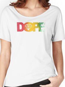 DOPE DIAMOND RASTA HIP HOP MUSIC SWAG XO Women's Relaxed Fit T-Shirt