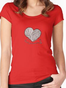 Love to Knit & Crochet Women's Fitted Scoop T-Shirt