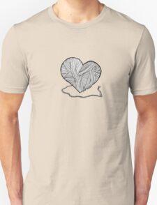 Love to Knit & Crochet Unisex T-Shirt