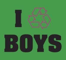 I Recycle Boys by mamisarah