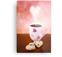 valentine biscuits.. Metal Print