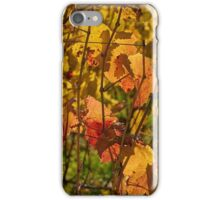 Autumn vines iPhone Case/Skin