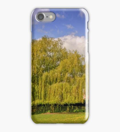 Olney Church and Mill Race iPhone Case/Skin