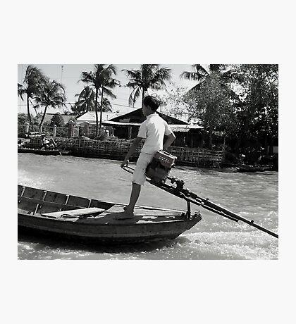 Off to School Viet Style Photographic Print