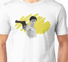 Robert De Niro in Taxi Driver - Portrait Unisex T-Shirt