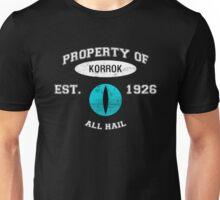 Korrok's School of Insufferable Dick Jokes Unisex T-Shirt