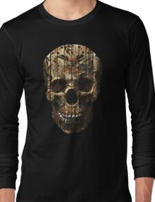 Fashion Skull Skeleton Tumblr Long Sleeve T-Shirt