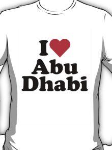 I Heart Abu Dhabi T-Shirt
