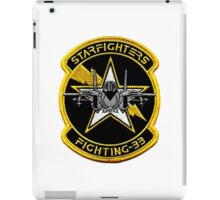 VFA-33 Starfighters Patch iPad Case/Skin