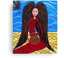 Pot of Gold  Mary Magdalene Canvas Print