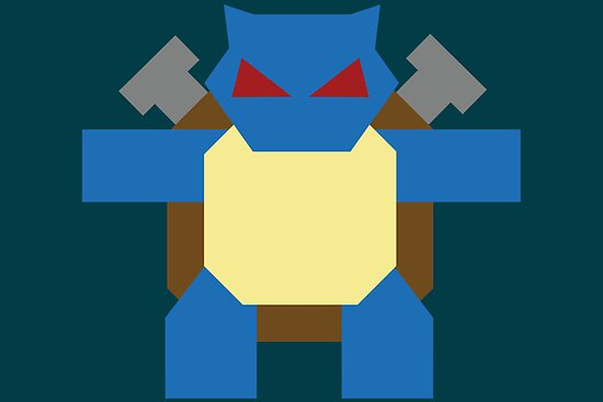 Blastoise by Gefemon2
