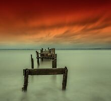 The Broken Jetty by manateevoyager